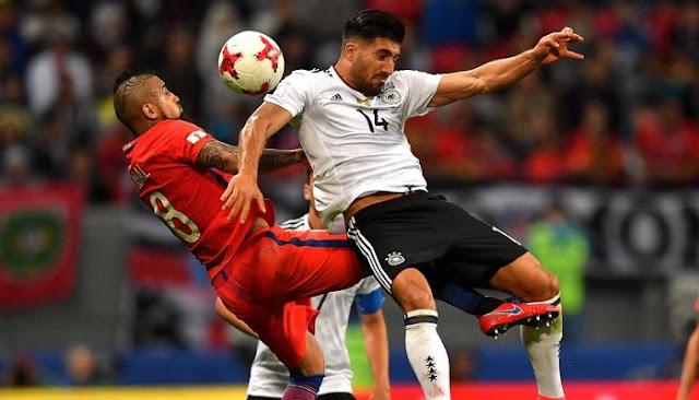 Chile vs Alemania en vivo