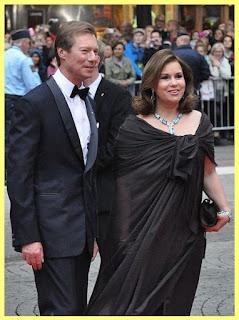 El duque Henri junto a su esposa María Teresa