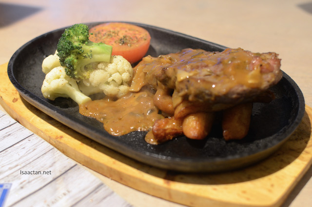 Koji Rubbed Sizzling Steak - RM80