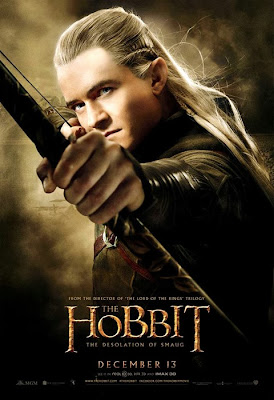 Poster oficial The Hobbit: The Desolation Of Smaug - Legolas