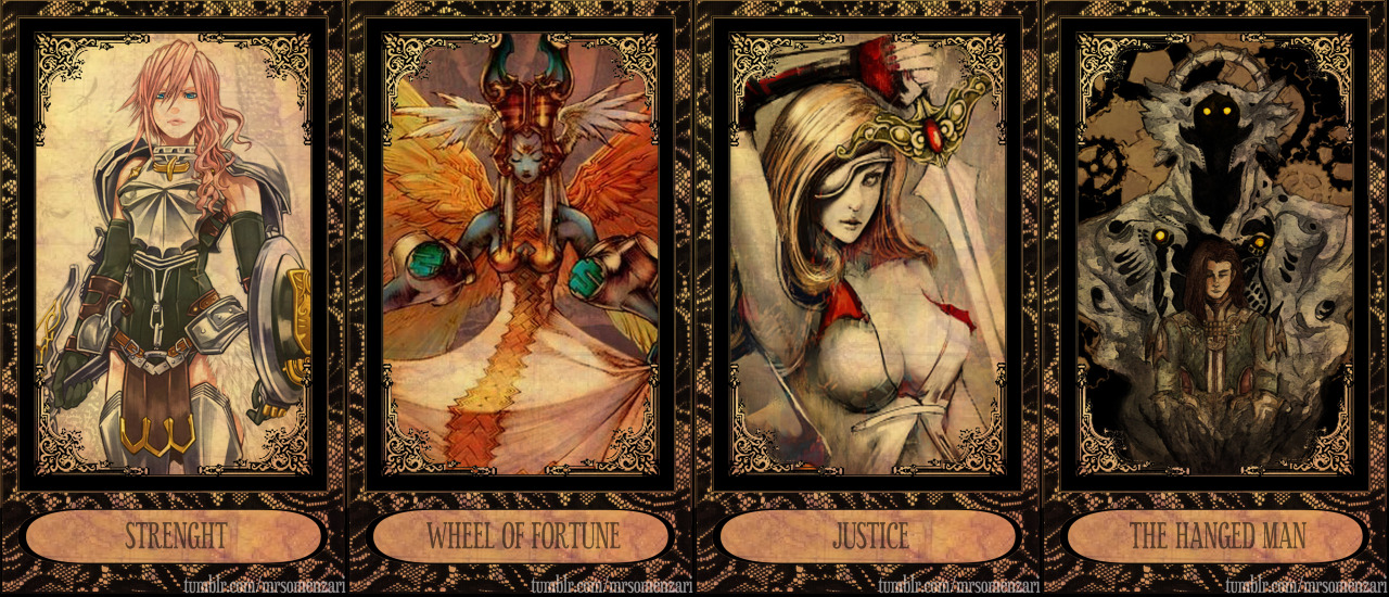 Bisag Unsa: Final Fantasy Tarot Cards