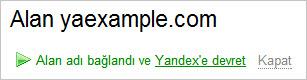 Yandex'in DNS Servisi Hizmeti