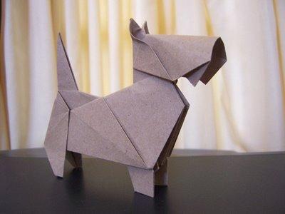 Mundo fili papiroflexia origami para ni os con perros - Origami para todos ...