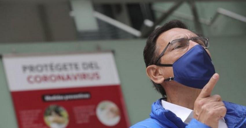Algunos congresistas quieren postergar elecciones y reelegirse, sostuvo el Presidente Vizcarra