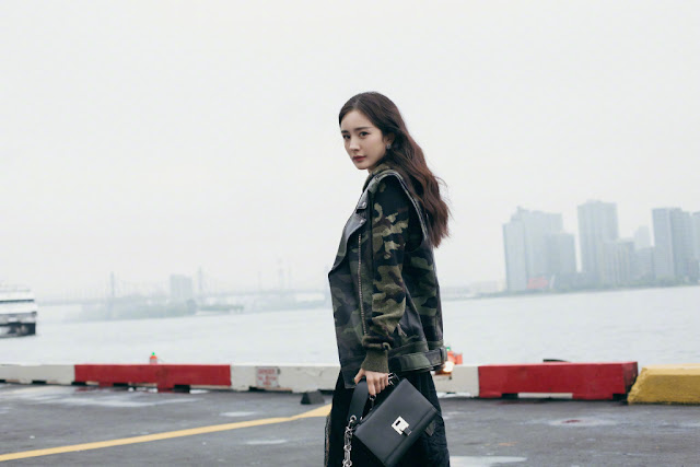 Yang Mi Michael Kors New York Fashion Week
