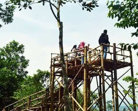 Wisata Alam Bukit Pajamben Kota Banjar