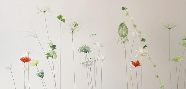 Laurence Aguerre - Sculpteur Textile - Dans l'atelier