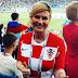 ЗНАКОМЬТЕСЬ! Это Колинда Грабар-Китарович. Она прилетела на ЧМ 2018 эконом-классом и болела за свою сборную. А ещё она – президент Хорватии