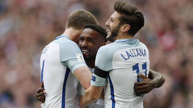 Setelah Empat Tahun, Defoe Bikin Gol Lagi untuk Inggris