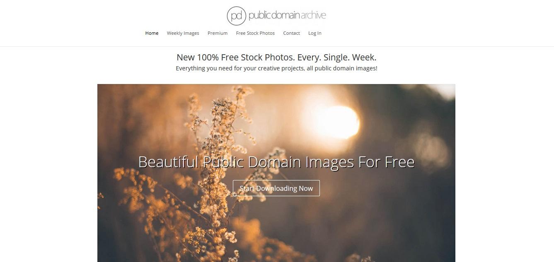 Kostenlose Stock Photos mit Creative Commons Zero Lizenz als freie Bildquellen für deinen Blog - Public Domain Archive