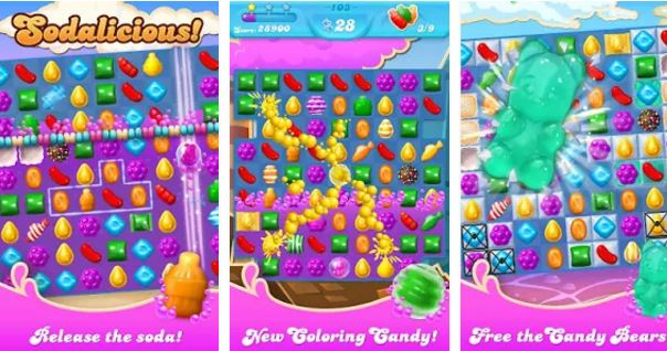 Candy Crush Soda Saga Android Game