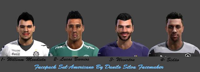 PES 2013 Facepack Sul-Americano V 1.0 By Danilo Silva Facemaker
