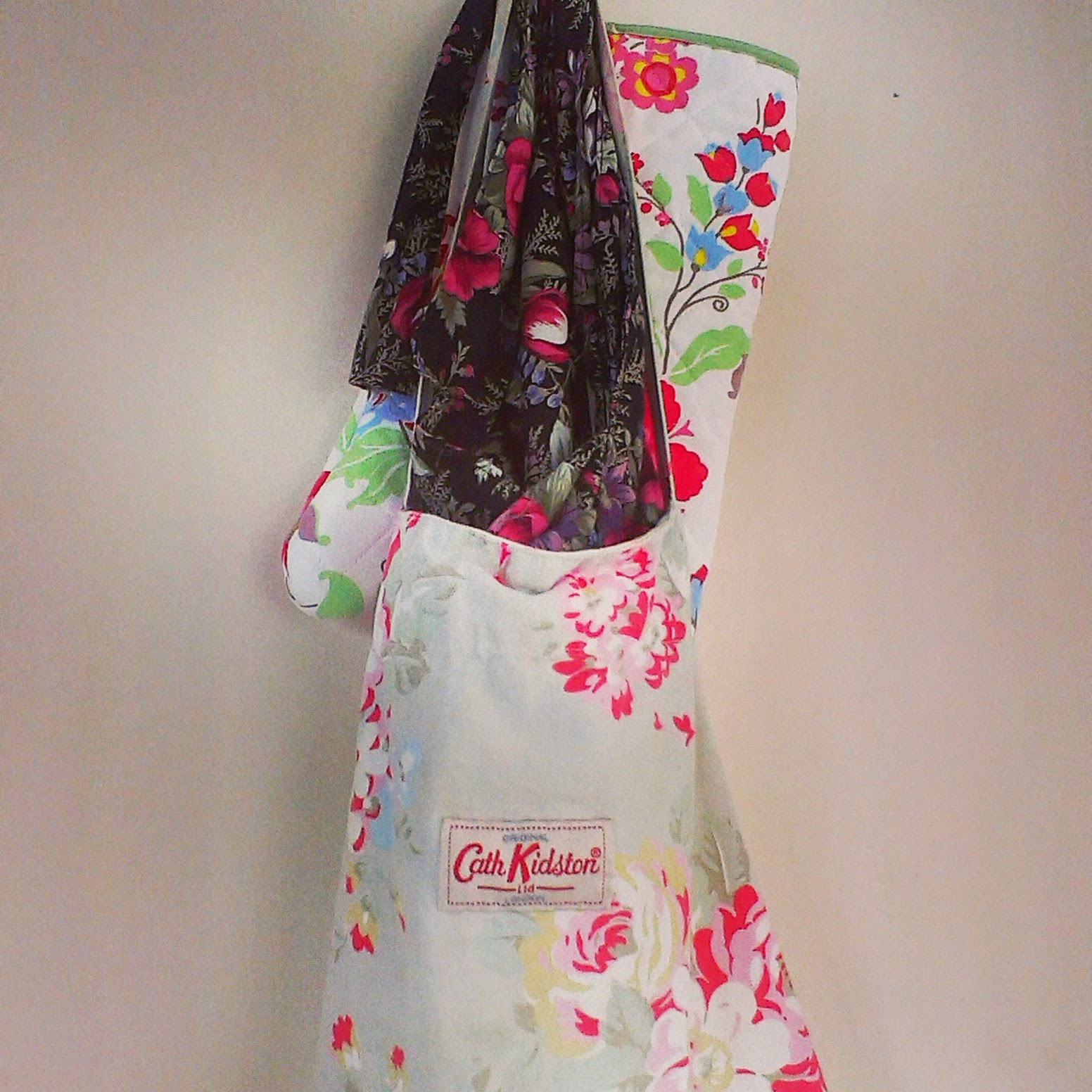 6pm - apron hung up for the day