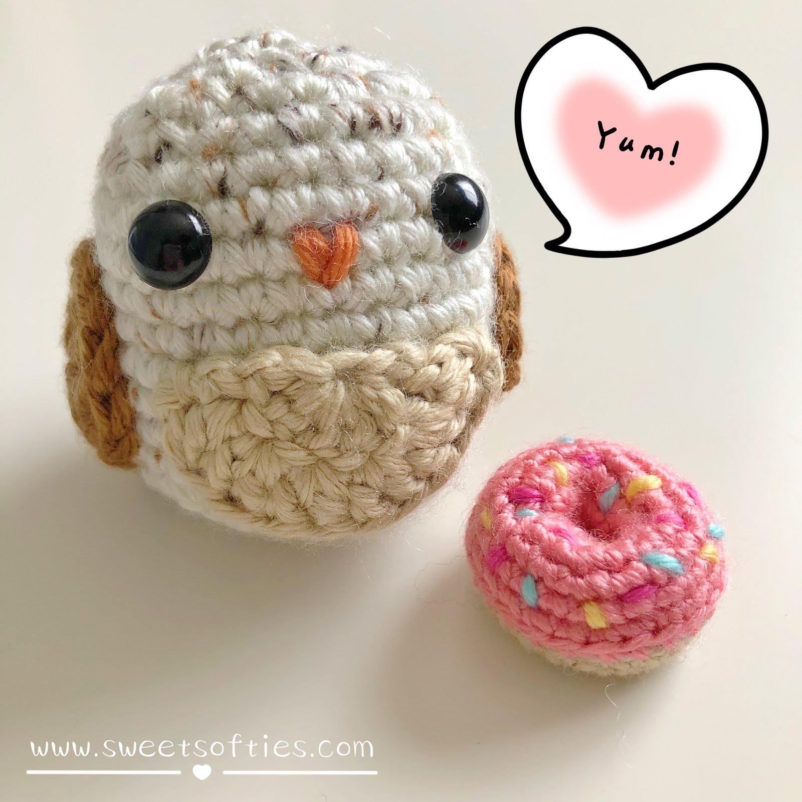 5 Little Monsters: Tiny Owl Amigurumi   1600x1600