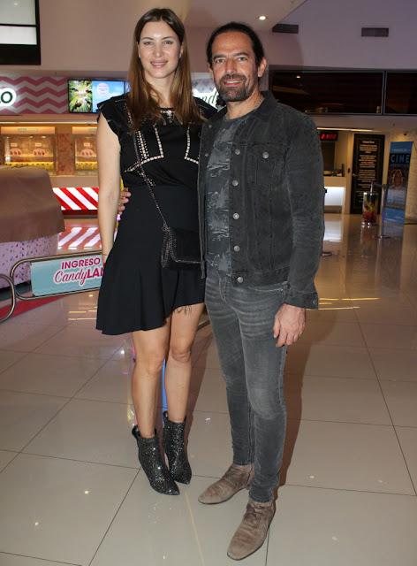 Diego Finkelstein y Soledad Ainesa en Recoleta Mall