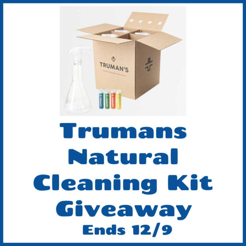 Truman's Natural Cleaning Kit Giveaway