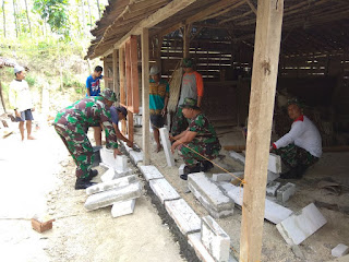 Satgas TMMD Ke-100 Kebut Renovasi 38 Unit RTLH