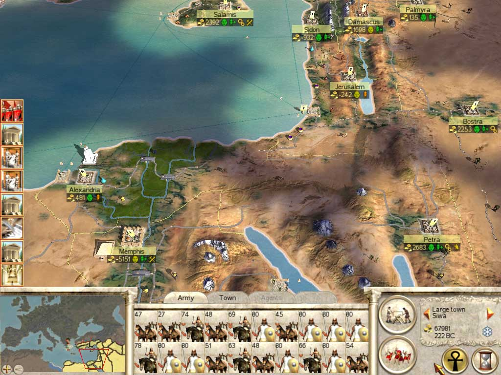 serial empire total war para mac