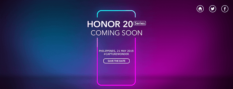 Honor 20 series to launch in the Philippines on May 21!