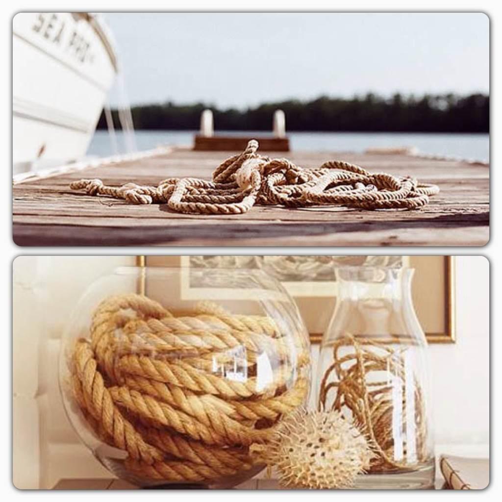 Muero de amor por la deco blog de decoraci n ideas y - Decoracion con cuerdas ...