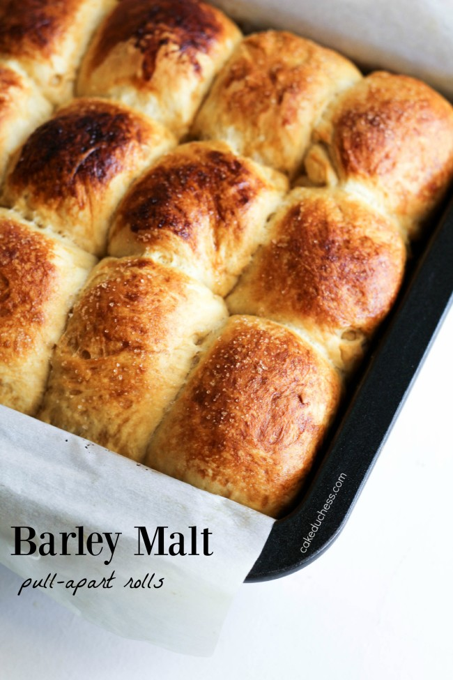 Barley Malt Pull-Apart Loaves