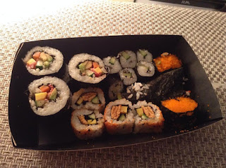 Sushi Top Ender made at Yo! back in 2014, It has long since been eaten.