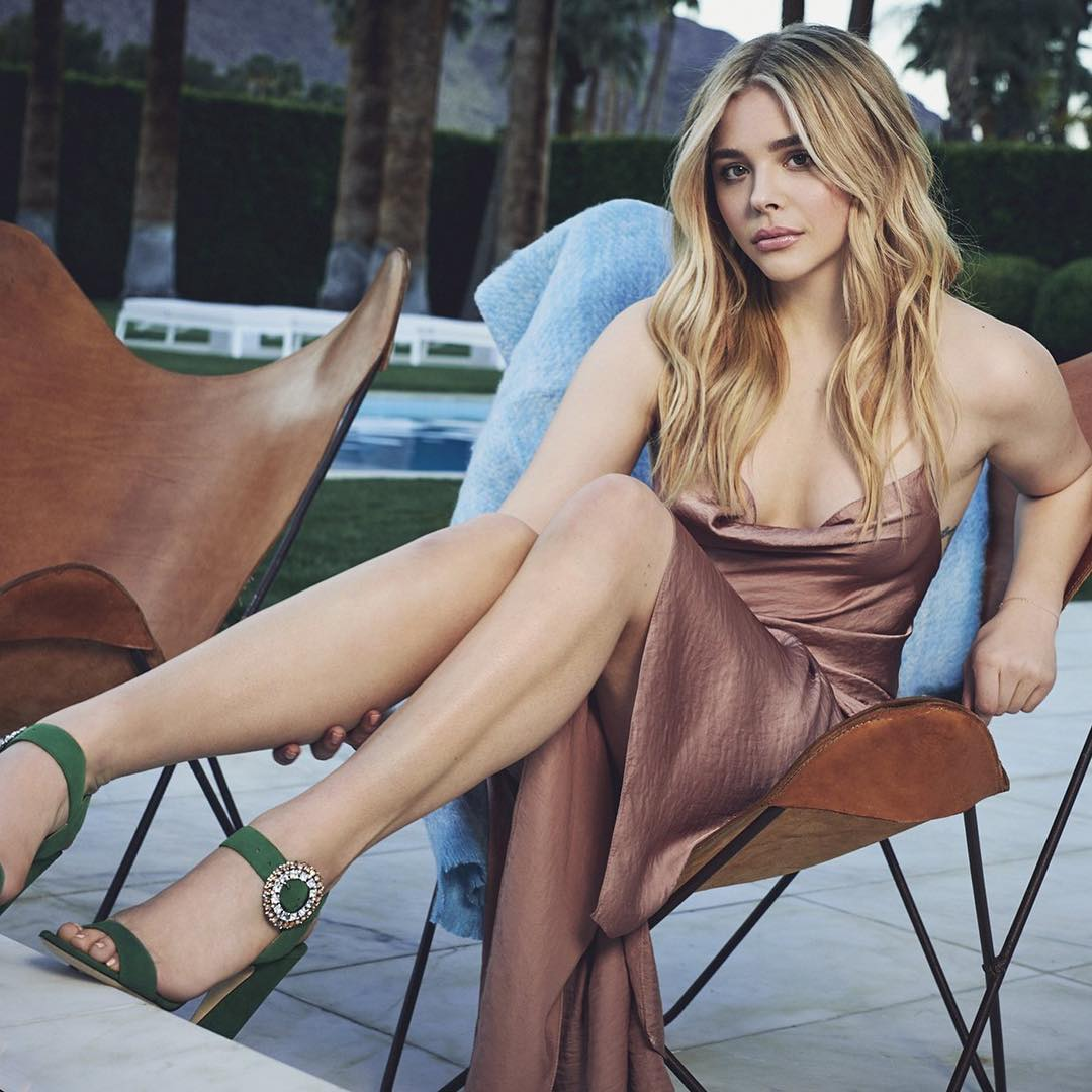 Chloe Grace Moretz Hot Photoshoot Images