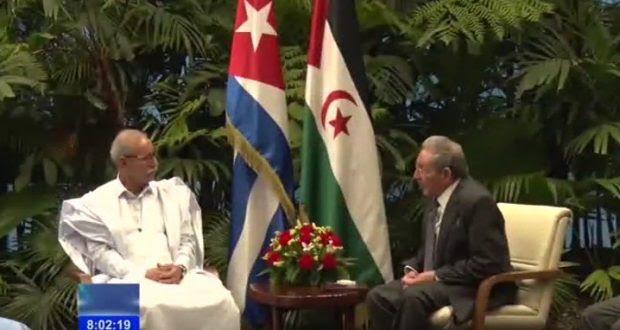 رئيس الجمهورية الصحراوية يهنئ الرئيس الكوبي الجديد