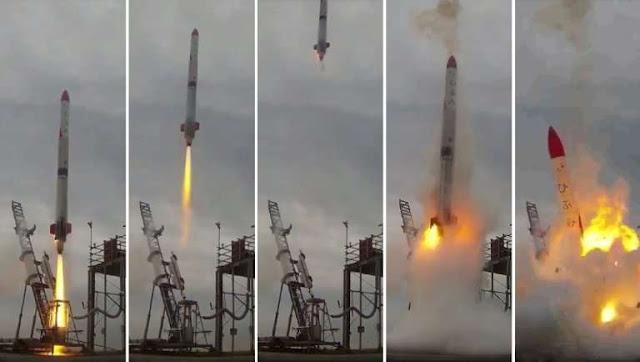 rocket fails at blast off