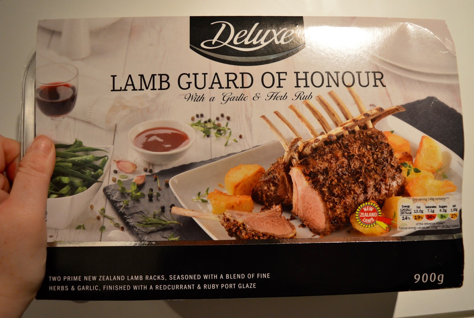 We review Christmas food at Lidl - Mains & Sides | What to Buy & What to Avoid - Deluxe  Lamb Guard of Honour