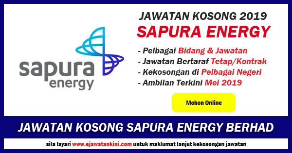 jawatan kosong sapura energy 2019