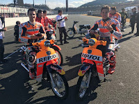 Exciting! Marquez and Pedrosa Racing using Motor 4 stroke