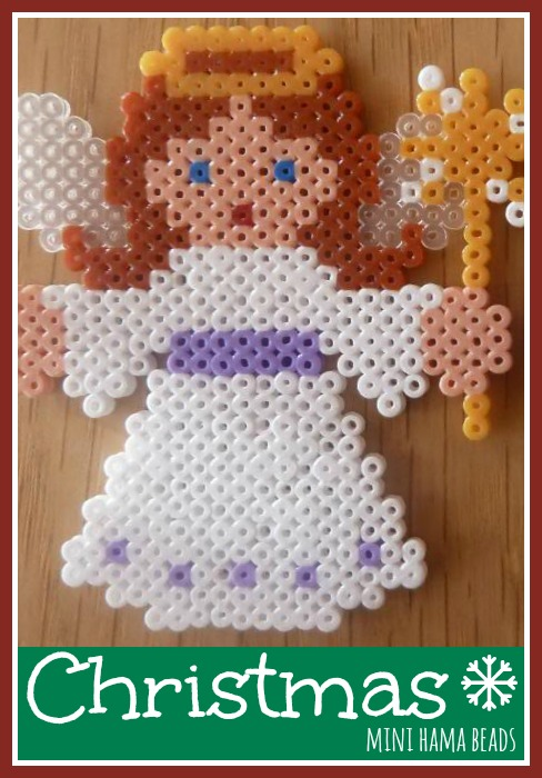 Jennifer 39 S Little World Blog Parenting Craft And Travel Christmas Mini Hama Beads