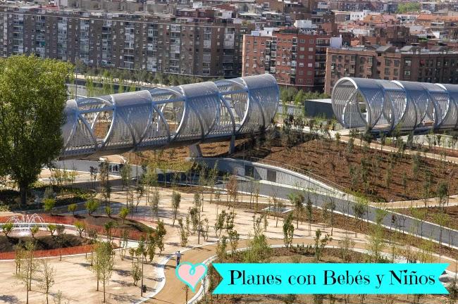 Madrid Río manzanares