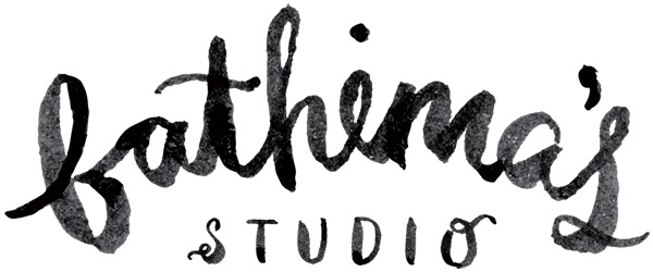 fathima's studio new logo