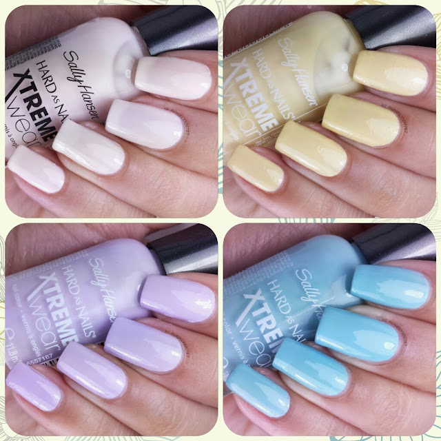 Sally Hansen Xtreme Wear Electric Summer Collection
