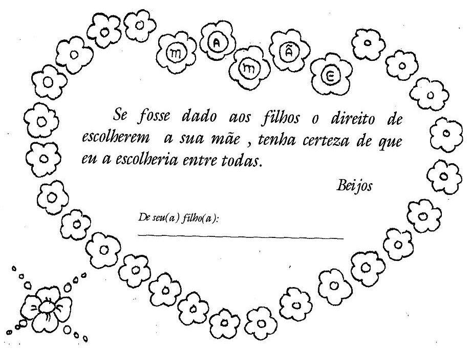 23 Ideias De Lembrancinhas E Cartões Para Imprimir De Dia Das Mães