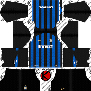 Inter Milan 2018/19 Kit - Dream League Soccer Kits