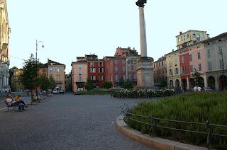 Piazza Duomo in Piacenza
