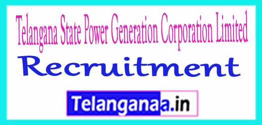 Telangana State Power Generation Corporation Limited TSGENCO Recruitment