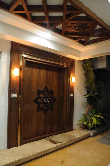 20 Best Modern Door Designs From Wood: 20 Modern Solid Dark Brown Wood Doors Ideas