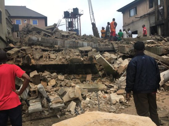 Building collapses in Owerri; 5 people, corp member feared trapped