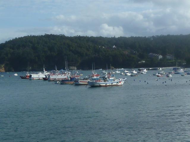 Barcos Porto de Lorbé - Oleiros