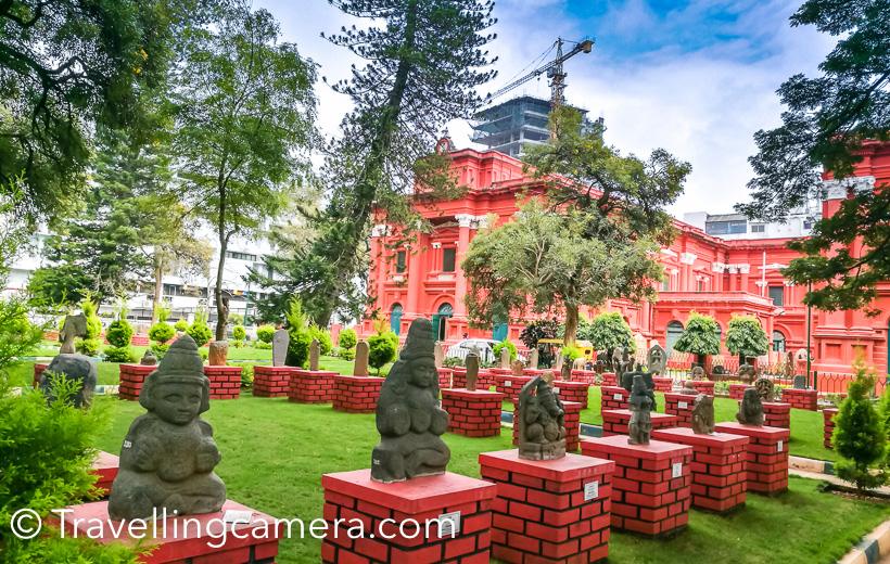 Do check more about this beautifully designed museum in this blogpost - Govt Museum and Art Gallery - A must visit place in Banglore    7. Visvesvarya Industrial & Technology Museum :