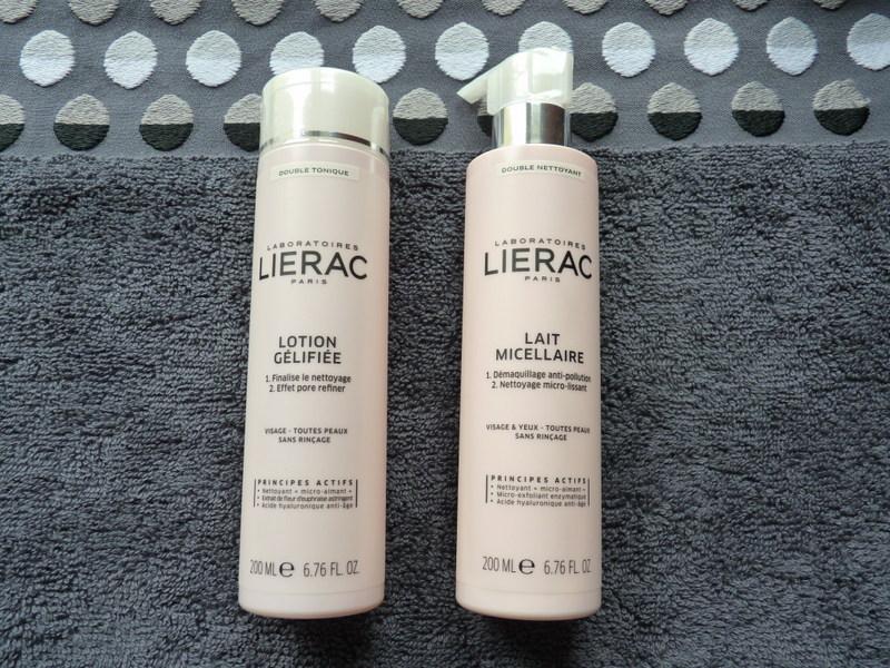 Podwójne oczyszczanie jonowe cery z marką LIERAC - mleczko micelarne Lait Micellaire