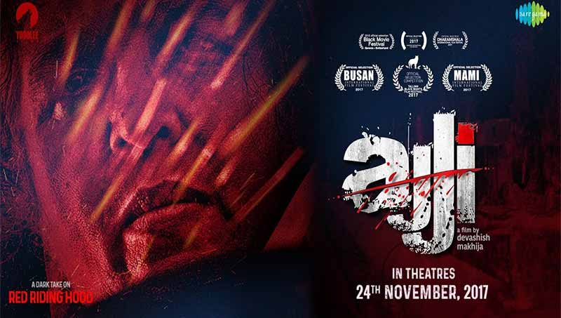 Ajji 2017 Hindi 720p NF WEBRip Movie Poster