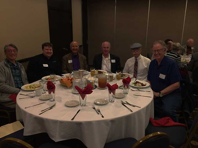 Palmia Observatory Resident Astronomer attends OC Sigma Xi Dinner Meetng