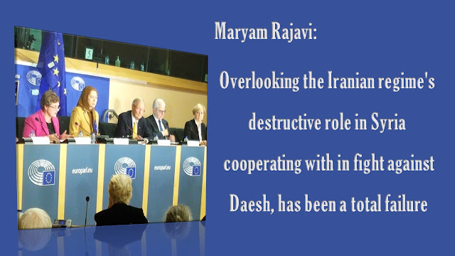 "Maryam Rajavi addresses an EP conference,""Iran: Wave of Executions; #EU Policy"" – Dec. 7,2016"