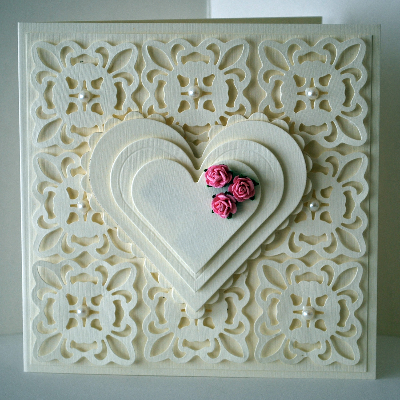 Wedding Cards Ideas To Make: Eileen's Crafty Zone: Spellbinders Fleur De Lis Pendant