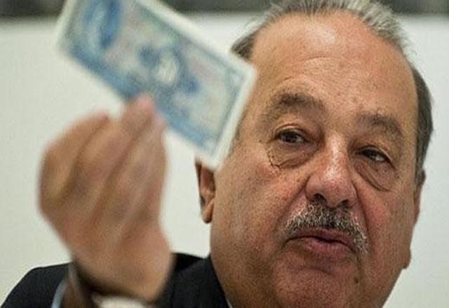 El gobierno no verá ni un peso de donaciones de particulares: Carlos Slim